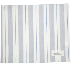 GreenGate Tischdecke Elinor Pale Grey 145x250cm