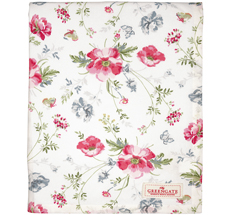GreenGate Tischdecke Meadow White 145x250