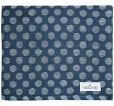GreenGate Tischdecke Savannah Blue Jacquard 145x250cm