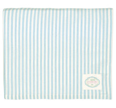 GreenGate Tischdecke Alice Stripe Pale Blue 145x250