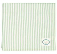 GreenGate Tischdecke Alice Stripe Pale Green 145x250