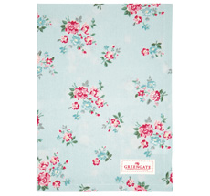 GreenGate Geschirrtuch Sonia Pale Blue
