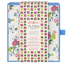 Cath Kidston Flora Blue Hyacinth Pflegeset 4-teilig •