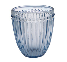 GreenGate Wasserglas Alice Blue