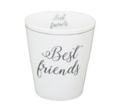 Krasilnikoff Happy Mug Becher Best Friends •