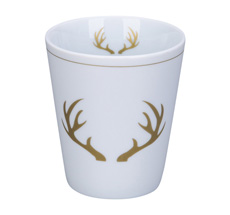 Krasilnikoff Becher Happy Mug Winter Lodge