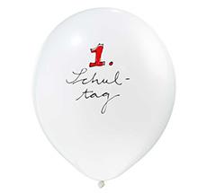 krima & isa Luftballon 1. Schultag
