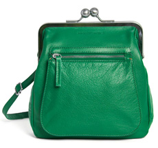 Sticks and Stones Ledertasche Lyon Jungle Green Washed