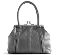 Sticks and Stones Ledertasche Marseille Light Grey Washed