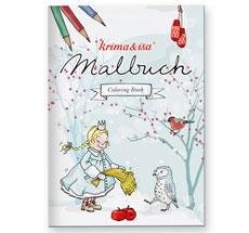 krima & isa Malbuch Schneetiere
