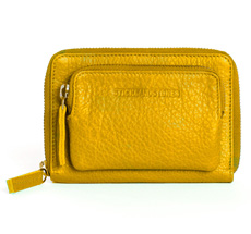 1082643bb234d Sticks and Stones Portemonnaie Montana Honey Yellow Washed