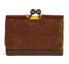 Sticks and Stones Portemonnaie Napoli Cognac Washed •