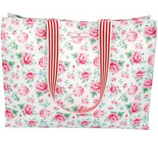 GreenGate Tasche Shopper Meryl White •