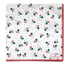 GreenGate Papierserviette Joselyn White Large 20 Stk.