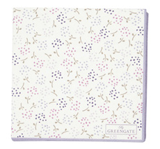 GreenGate Papierserviette Ginny White Small 20 Stk.