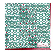 GreenGate Papierserviette Juno Green Small 20 Stk.