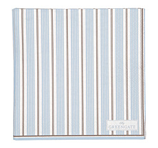 GreenGate Papierserviette Tova Pale Blue Small 20 Stk.