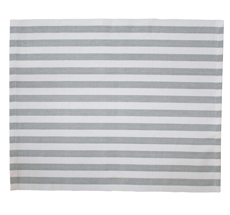 Krasilnikoff Platzset Stripes Grey