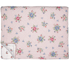 GreenGate Quilt Tagesdecke Roberta Pale Pink