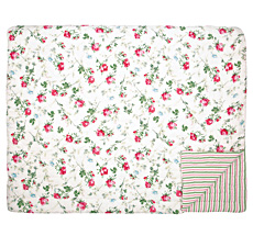GreenGate Quilt Tagesdecke Constance White 250 x 260 cm