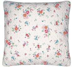 GreenGate Kissenhülle Belle White 50x50cm