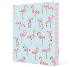 krima & isa Ringmappe Flamingo