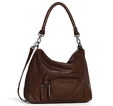 Sticks and Stones Ledertasche San Diego Cognac Washed •
