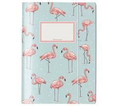 krima & isa Sammelmappe Flamingo A4