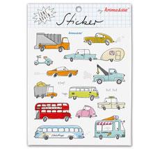 krima & isa Sticker Autos