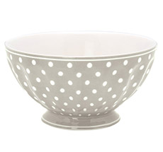 GreenGate French Bowl Spot Grey XL