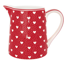 GreenGate Krug Penny Red 0,5L