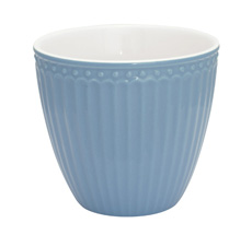 GreenGate Latte Cup Becher Alice Sky Blue