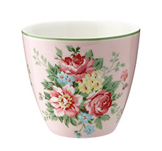 GreenGate Latte Cup Becher Aurelia Pale Pink •