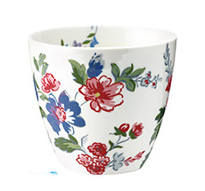 GreenGate Latte Cup Becher Isobel White •