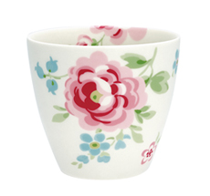 GreenGate Latte Cup Becher Meryl White