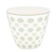 GreenGate Latte Cup Becher Mila White