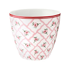 GreenGate Latte Cup Becher Rita Pale Pink •