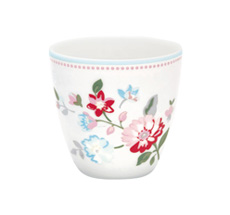 GreenGate Mini Latte Cup Becher Sonia White