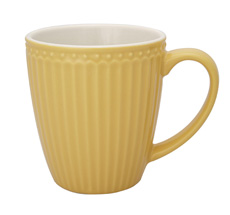 GreenGate Tasse Alice Honey Mustard