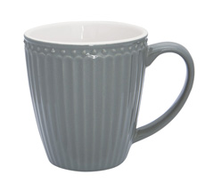 GreenGate Tasse Alice Stone Grey