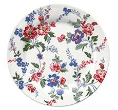 GreenGate Teller Isobel White 20,5 cm •