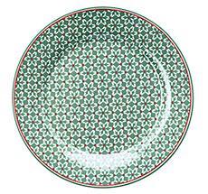 GreenGate Teller Juno Green 20,5 cm
