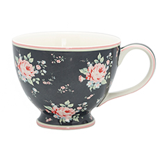 Entzuckend GreenGate Teetasse Marley Dark Grey