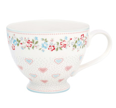 GreenGate Teetasse Sonia White