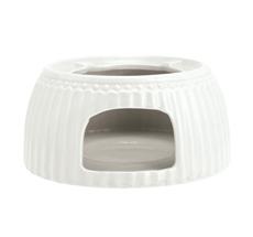 GreenGate Teekannen-Stövchen White