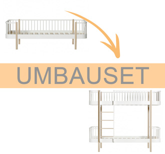 Oliver Furniture Umbauset Wood Bettsofa zum Etagenbett Leiter vorne