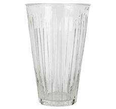 IB LAURSEN Vase hoch gerillt