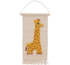 OYOY Giraffe Wanddeko Rose