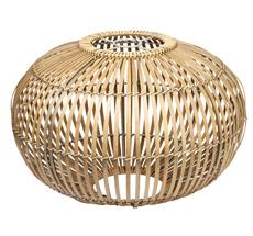 Broste Copenhagen Lampenschirm für Deckenlampe Bambus 48 cm