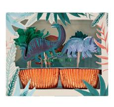 Meri Meri Cupcake-Set Dinosaurier Königreich
